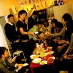 画像: リビング                             - 新宿まで歩いて行けます^^学生no.1認知度 シェアハウス トーキョー馬場大学に住んで一緒に出会いを増やしませんか?