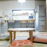 画像: リビング                             - 【京都】丹波橋駅付近!若者のためのシェアハウスめいちゃんち@伏見