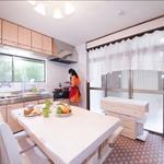 画像: キッチン                             - 3月末空室予定!女性限定テラスハウス 事務所貸しも◎
