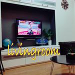 Photo: リビング                             - Since about 70-square meters of premises dining room and living room, even the garden wide!