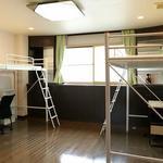 Photo: ドミトリー寝室                             - 国際交流シェアハウス BORDERLESS HOUSE に遂に日本人男性枠の空きがでました!