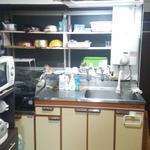 画像: キッチン                             - 高速WIFI有光熱費込3.2万♪千葉市中央区生実町シェアハウス1部屋入居者募集!