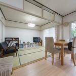 Photo: リビング                             - 綺麗で静かなお部屋(京都市立芸術大学まで徒歩15分)
