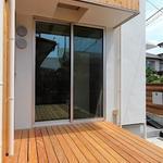 Photo: 建物外観                             - 海まで徒歩1分!湘南鵠沼海岸を満喫する最高の場所に新築デザイナーズシェアハウスが2016年7月OPEN!!
