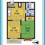 Photo: 間取図                             - Shakujiikoen close, one to Ikebukuro! In a quiet town, the rooms are spacious!