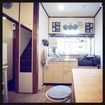 Photo: キッチン                             - <3名までの女性専用シェアハウス@根岸線根岸駅>