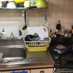 Photo: キッチン                             - 家賃と光熱費のみ!!山手線で3万円~の鍵付き完全個室!!