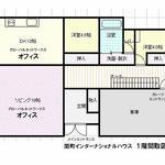 画像: 間取図                             - ◆武蔵関駅 徒歩30秒の学生向けシェアハウス月額¥49,000!! (管理費 8,000円)◆