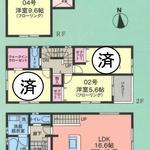 画像: 間取図                             - 亀有駅徒歩5分 女性限定シェアハウス  2名募集中