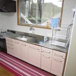画像: キッチン                             - 女性限定、楽器OKのシェアハウス、賃料1ヵ月分無料