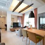 画像: リビング                             - 岡山倉敷の新築デザイナーズシェアハウスSPOOKYS入居者募集中!