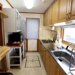 画像: キッチン                             - 女性専用シェアルーム空きあり!ラグジュアリーシェアハウス!清潔!リフォーム済み!国際交流!