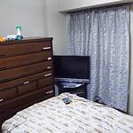 個室、カギ、エアコン、テレビ付!