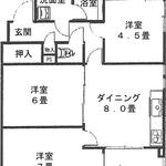 Photo: 間取図                             - 登戸駅徒歩10分 3万9千円 初期費用なし 7畳個室他