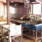 画像: キッチン                             - 根津の古民家シェアハウス兼フランス菓子屋 アトリエ22畳 リビング20畳
