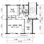 画像: 個室                             - 大阪、京都へのアクセス良好 樟葉駅からバス10分 (UR男山団地 2LDK)