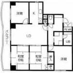 画像: 間取図                             - ☆★日本橋駅 から 徒歩3分。2018年3月18日から入居可能☆部屋 空きます☆★☆