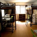 画像: ドミトリー寝室                             - シェアルーム(最大3名) @北新宿 空き出ました