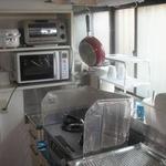 画像: キッチン                             - ラブリー晴れ6畳部屋