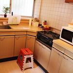 画像: キッチン                             - 共益費0円光熱費込み!