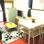 画像: リビング                             - 中野の個室で家賃50000円!!
