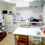 画像: キッチン                             - ★リフォーム済み♪綺麗な鍵付き個室です♪