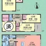 画像: 間取図                             - 亀有駅徒歩5分 女性限定シェアハウス  3名募集中