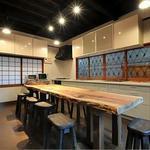 画像: ダイニング                             - 十条駅より徒歩3分の京都ならではの町屋風シェアハウス