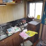 画像: キッチン                             - ワケありアパート貸します。室内改装・リフォームOK! 成増2K