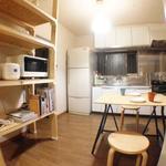 画像: キッチン                             - 本に囲まれた豊かな生活を。EN HOUSE NERIMA(女性に嬉しい綺麗なバスタブ完備!)