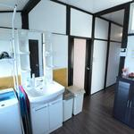 画像: 洗面所                             - (ラスト2部屋)【女性限定】静かで落ち着ける生活環境。今ならどの部屋も【29,800円】♪町田のシェアハウス、新規オープンキャンペーン実施中♪