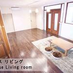 画像: リビング                             - 【初期費用ゼロ!・なんば中心地までチャリ5分!!駅近 なんば】 広々リビング・キッチンあります!