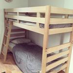 Photo: ベッド                             - ネットカフェに泊まってる方、一日600円~800円で住む事出来ます♪お風呂、キッチンついてます♪