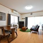 Photo: リビング                             - Free Rent! Women's Private House ♪ Tenno Town Yokohama Station