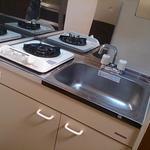 画像: キッチン                             - ルームメート募集中。お部屋をお探しなら即入居可能です。早い者勝ち!!