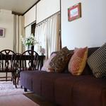 画像: リビング                             - 女子3人の一軒家! 10畳個室!専用TV,お米や洗剤付.布団家具付,光回線.安心の女性オーナー