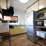 画像: キッチン                             - お米食べ放題のシェアハウス!
