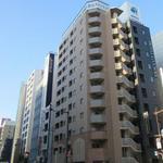 画像: 建物外観                             - 駅から徒歩1分のマンションタイプ1K 「即入居可」