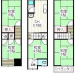 画像: 間取図                             - ★駅徒歩5分!北新地まで電車で27分!今だけ特別特価!★