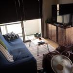 Photo: リビング                             - 【Okinawa · Onna Village】 Moon Beach 1 min walk! Private room available! Includes utility, internet!