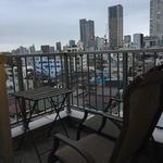 画像: ベランダ                             - 駅近マンション最上階、螺旋階段のあるメゾネット