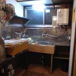 画像: キッチン                             - 原宿の住宅街エリア千駄ヶ谷にあるレアなレトロアパートメント