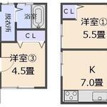 画像: 間取図                             - シェアハウス「さくら」西住之江
