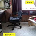 Photo: Single Room                             - 女性専用、2階の広い個室が2部屋が入居可能です。常磐線亀有駅から徒歩7分の静かな住宅街にある戸建て住宅。
