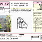 Photo: 間取図                             - ☆☆ It is 1 month free rent now if it is now! Tozai line Nishikasai station 9 min walk 1 K ☆ ☆