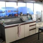 画像: キッチン                             - お部屋を、お貸し致します! 2018年11月中旬まで受け付けております。