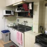 画像: キッチン                             - 女性限定シェアハウス、駅から徒歩2分!