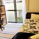 画像: ベッド                             - 清潔なプライベートルームで吉祥寺