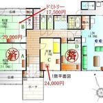 画像: 間取図                             - シルク福原