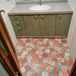 画像: 洗面所                             - 大型分譲マンションにてルームメイトを募集しています。